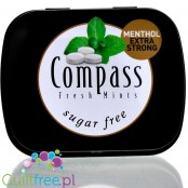 Compass Menthol Strong - sugar free candy drops