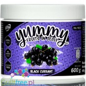 6PAK Yummy Fruits in Jelly 600g Blackcurrant