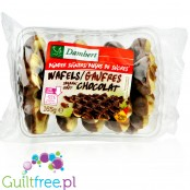 Damhert Gaufres Chocolat - soft waffles with no added sugar in a chocolate coating