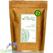 Grapoila Highly Defatted Pumpkin Seed Flour, Raw, 61% Protein