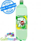 7up Free - carbonated low-calorie drink, 2L, sugar free