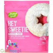 Hey Sweetie, powdered sweetener, stevia & erythritol, icing sugar calorie free substitute