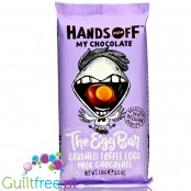 Hands Off My Chocolate The Egg Bar Crushed Toffee Eggs Chocolate (CHEAT MEAL)
