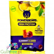 Powerbärs High Protein Blueberry & Lemon - protein jelly beans with vitamin C, 30% protein
