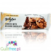 Booty Bar Belgian Chocolate Cookie - protein bar 17g of protein & 142kcal