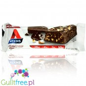 Atkins Meal Double Fudge Brownie protein bar without maltitol