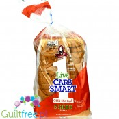 Aunt Millie's Carb Smart 1Carb Bread 5 Seed
