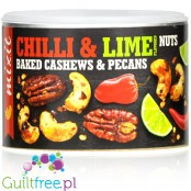 MixIt Chilli & Lime Nuts - baked pecans and cashews with lime and habanero