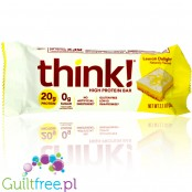 Think! White Chocolate Dipped Lemon Delight protein bar