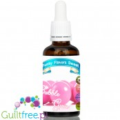 Funky Flavors Sweet Bubble Gum - sugar free liquid flavor with sucralose