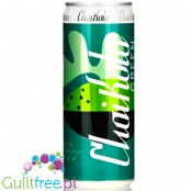 ChaiKola Green Zero - carbonated drink with caffeine and black tea, sweetened with stevia