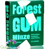 Forest Gum Mint - vegan sugar-free chewing gum with xylitol and stevia, no plastic