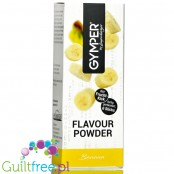 Gymper Flavor Powder Banane - soluble flavoring sachets for desserts and sugar-free drinks