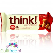 Think! Chocolate Dipped Chunky Peanut Butter protein bar