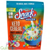 Snack House Keto Cereal, Fruity Rubbles 189g
