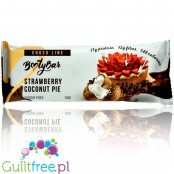 Booty Bar Strawberry Coconut - protein bar 17g of protein & 142kcal