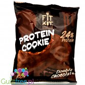FitKit Protein Cookie Double Chocolate 50gr