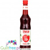 Toschi Fragola Linea Zero Plus - Italian concentrated syrup, Strawberry