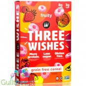 Three Wishes Grain Free Cereal, Fruity