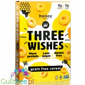 Three Wishes Grain Free Cereal, Honey