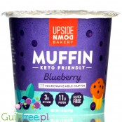 Upside Down Bakery Keto Friendly Microwaveable Muffin Cup, Blueberry