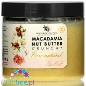 Macadamia Nut Farm Pure & Salted, Crunchy - butter from roasted macadamia nuts with a little salt