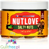 Nutlove Salty Nuts - baked pecans and cashews with lime and habanero