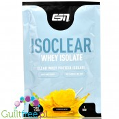 ESN Isoclear® Whey Isolate, Lemon Slush - supplement without lactose, sugar & fat, 25g of protein & 105kcal