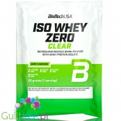 BioTech USA Iso Whey Zero Clear, Lime 25g