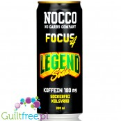 NOCCO Focus Legend Soda - energy drink without sugar with caffeine, vitamins B and green tea extract
