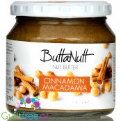 ButtaNut Cinnamon Macadamia 250g - roasted nut butter from RPA
