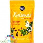 Fazer Xylimax Moomin Vadelma-Hedelmä Chewing Gum, sugar free, with 68% xylitol