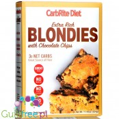 Universal Nutrition CarbRite Diet Extra Rich Blondies Baking Mix with Chocolate Chips - No Maltitol