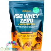 BioTech USA Iso Whey Zero Pecan Nut 0,5kg, lactose free, summer 2020 limited edition