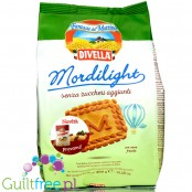 Divella Mordilight Frollini - traditional Italian biscuits with no added sugar