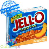 Jell-O Peach low fat sugar free jelly, Peach flavor