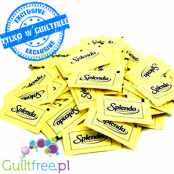 Splenda sweetener in sachet with Sucralose