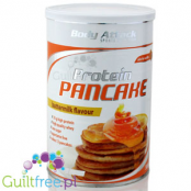 Body Attack Protein Pancake baking mix, Buttermilk flavor - protein mix for baking pancakes and waffles with buttermilk