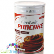 Body Attack Protein Pancake baking mix, buttermilk flavor with oats - protein mix for baking pancakes and waffles
