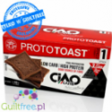 Ciao Carb low carb, & high protein cocoa toast bread slices
