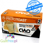 Ciao Carb low carb, low calorie & high fiber toast bread slices