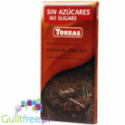 Torras sugar free dark chocolate with cocoa nibs