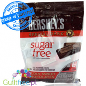 Hershey's Sugar free dark chocolates