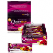 Quest Bar Protein Bar White Chocolate Raspberry Flavor