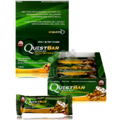 Quest baton proteinowy Masło Orzechowe Supreme 20g białka / 4g węglowodanów PUDEŁKO