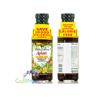 Walden Farms Asian Dressing - Asian style sauce with soy sauce and sesame seeds, with sweeteners