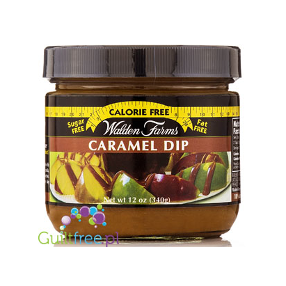 Walden Farms Caramel Dip Trace Calories