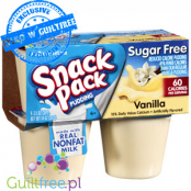 Hunt's Sugar Free Snack Pack Pudding, Vanilla