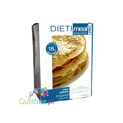Crêpe arôme nature - high-protein pancakes in powder, contain sweetener