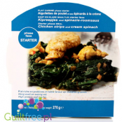 Dieti Meal high protein & low carb ready dish, Chicken in creamy spinach sauce